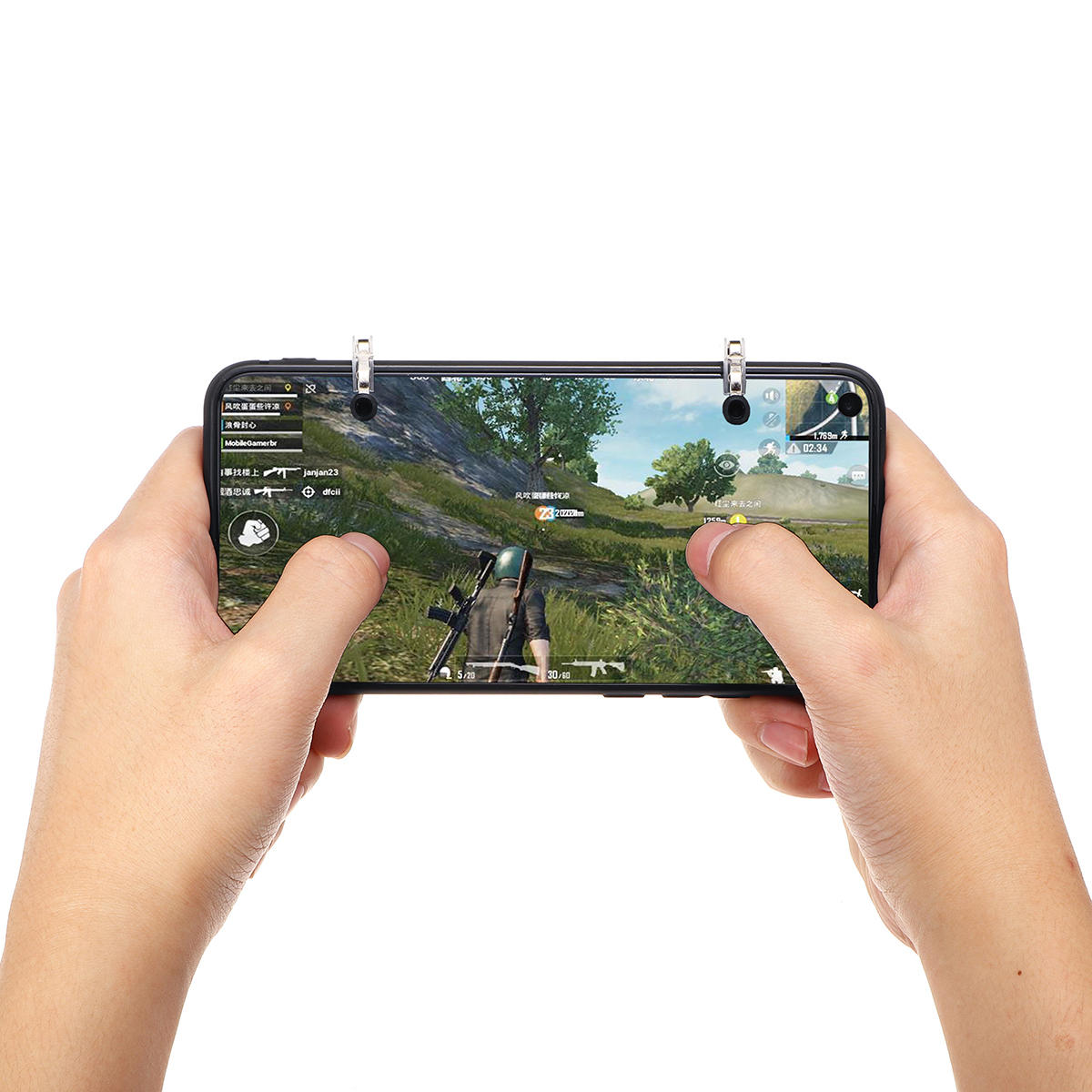 Joystick Shooter Button Fire Trigger Game Controller for PUBG Mobile Game for iPhone Android Smart Phone