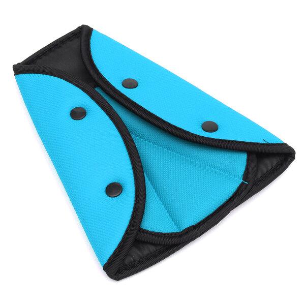 Car Child Safety Cover Harness Strap Adjuster Pad Kids Seat Belt Seat Belt Clip