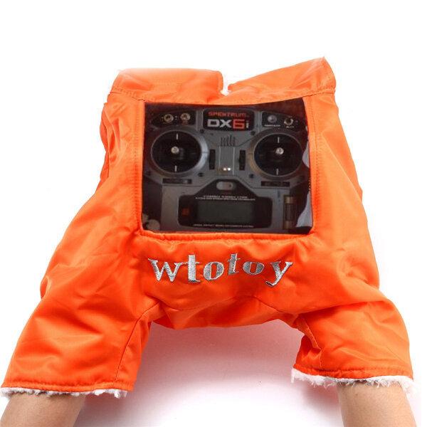 Ditingkatkan Sarung tangan hangat pemancar Cover Shield Winter Outdoor Flying for Flysky Frsky