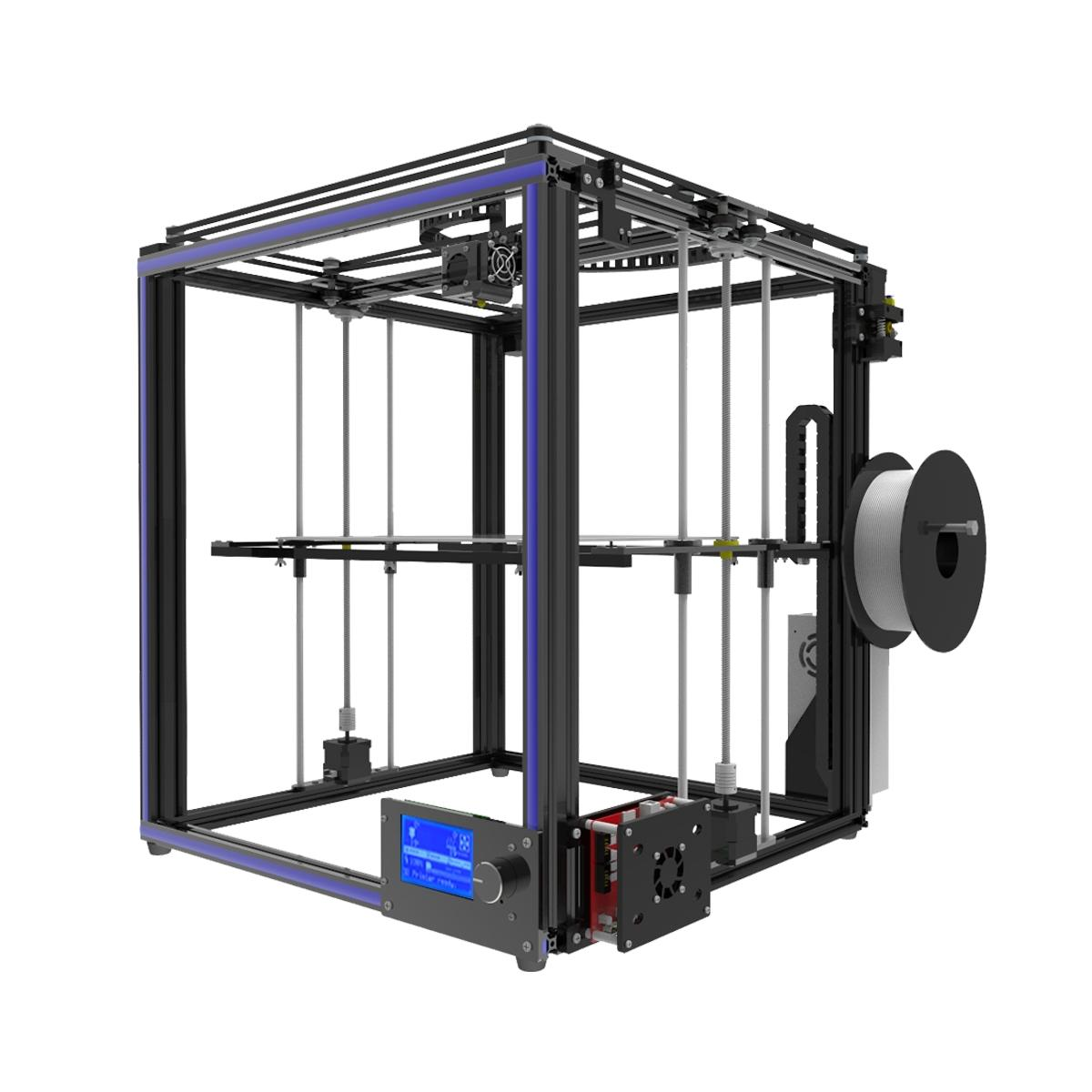 TRONXY® X5S DIY Aluminum 3D Printer Kit 330*330*400mm Large Printing Size With Dual Z-axis Rod 1.75mm 0.4mm Nozzle