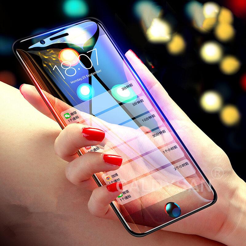 Bakeey 10D buet kant kalt carving temperert glass beskyttelsesfilm til iPhone 6 Plus / 6s Plus