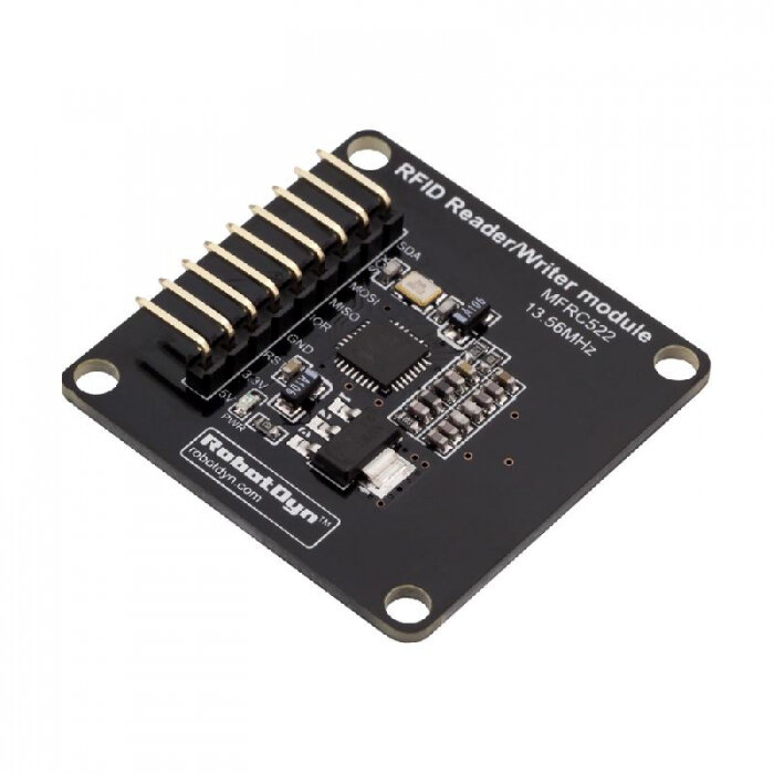Compact RFID Reader NFC Module MFRC522 Writer 13.56MHz 5V 3.3V RobotDyn for Arduino - products that work with official A фото