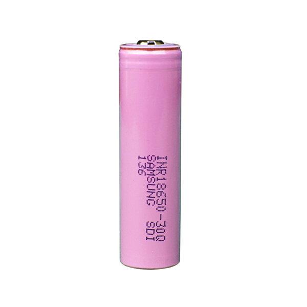1PCS Samsung INR18650-30Q 3000mAh Unprotected Button Top 18650 Battery