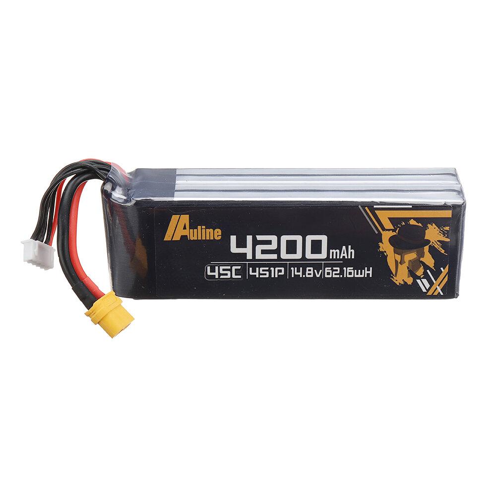 Auline 4S1P 14.8V 4200mAh 45C Li-ion XT60