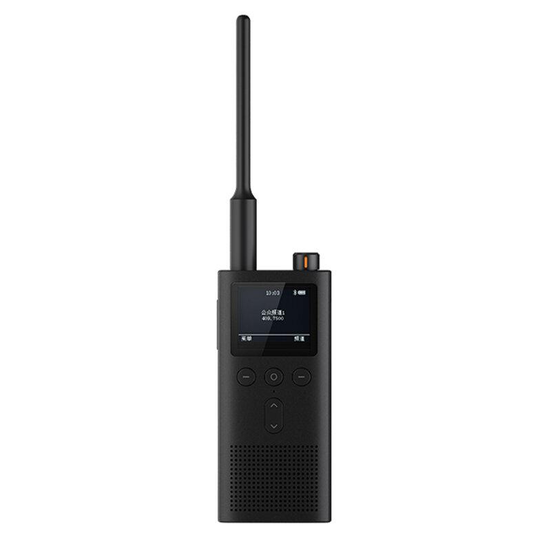 Xiaomi Mijia 2Gen 5W 430-440MHz UV dubbelband Radio Walkie Talkie IP65 Vattentät 13Days Super Long Standby Bluetooth Interfon USB Uppladdningsbar