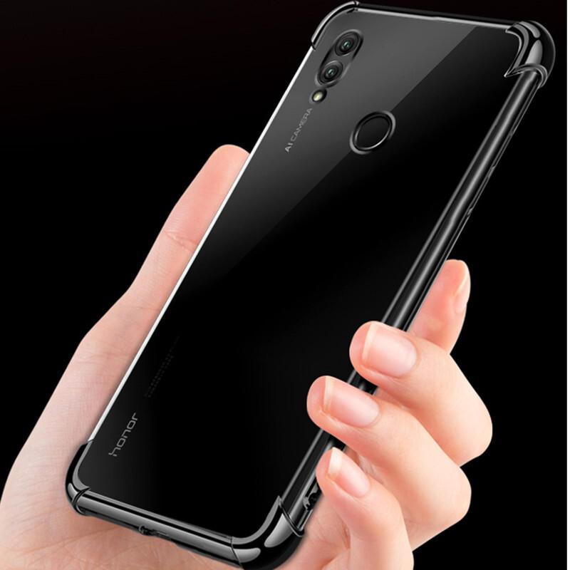 Bakeey Ultra-ince Darbeye Dayanıklı Şeffaf Soft TPU Koruyucu Kılıf Huawei Honor 8X