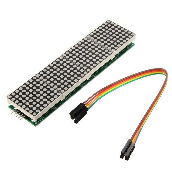 Geekcreit® MAX7219 Dot Matrix Module 4-in-1 Display For Arduino