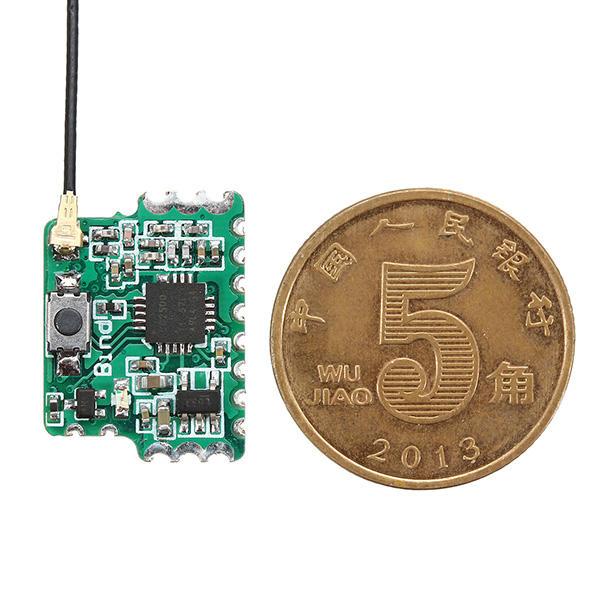 2.4G 8CH D8 मिनी FrSky PWM PPM SBUS आउटपुट के साथ संगत रिसीवर