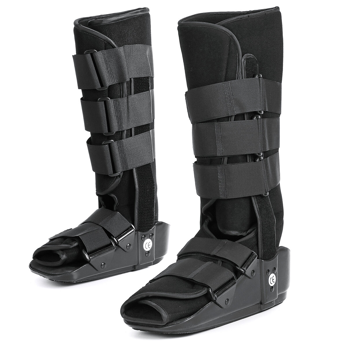 Ankle Brace Support Orthosis Shoe Adjustable Ankle Straps Foot Stabilizer Ankle Protector