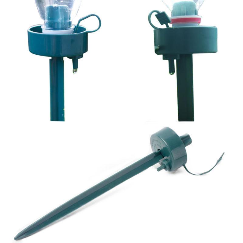 DIY Automatic Self-Watering Seepage Moving Plant Waterer Bottles Flower Water Drip Irrigation Device