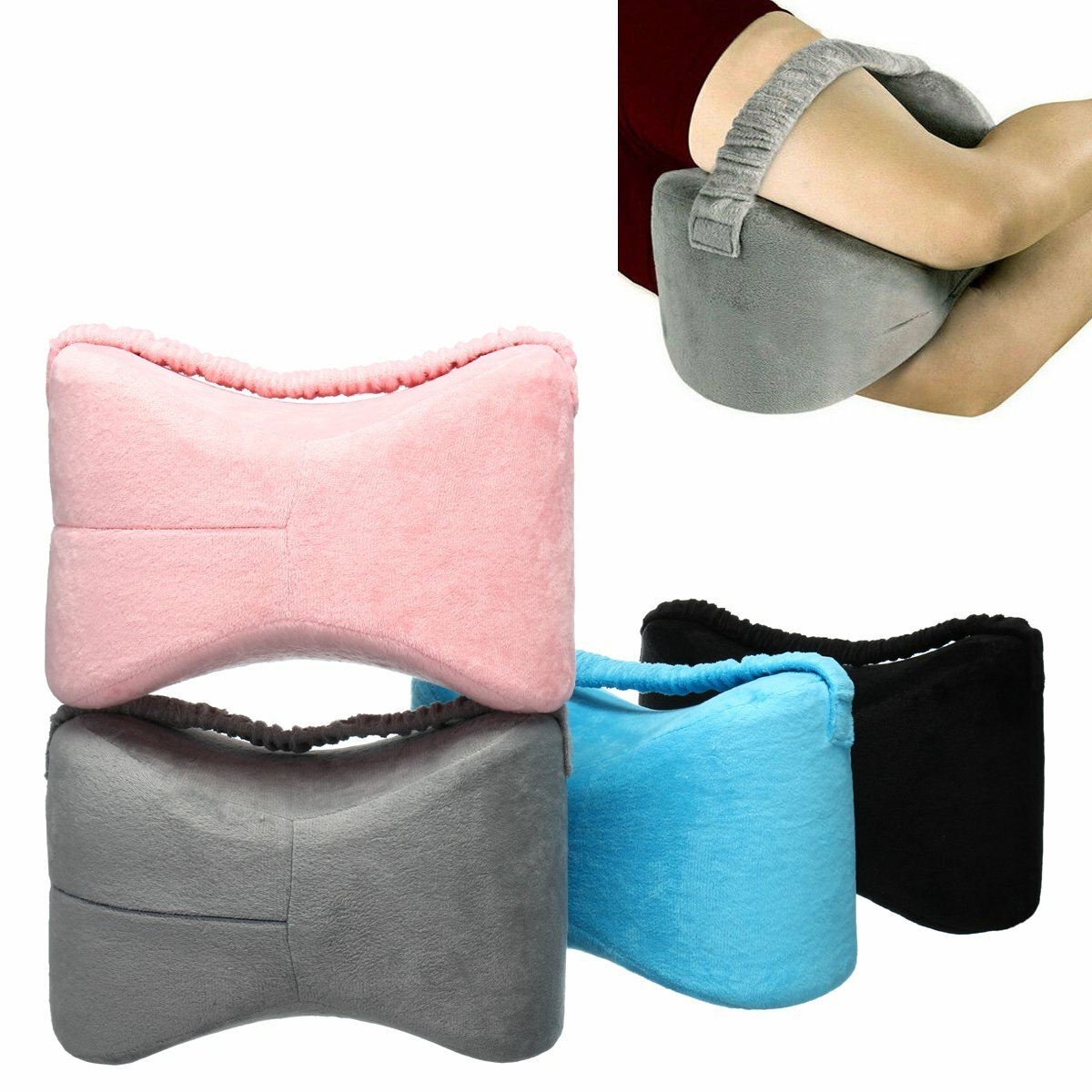 Memory Foam Leg Pillow Fatigue Relief Back Hips Knee Support Cushion Pillow, Banggood  - buy with discount