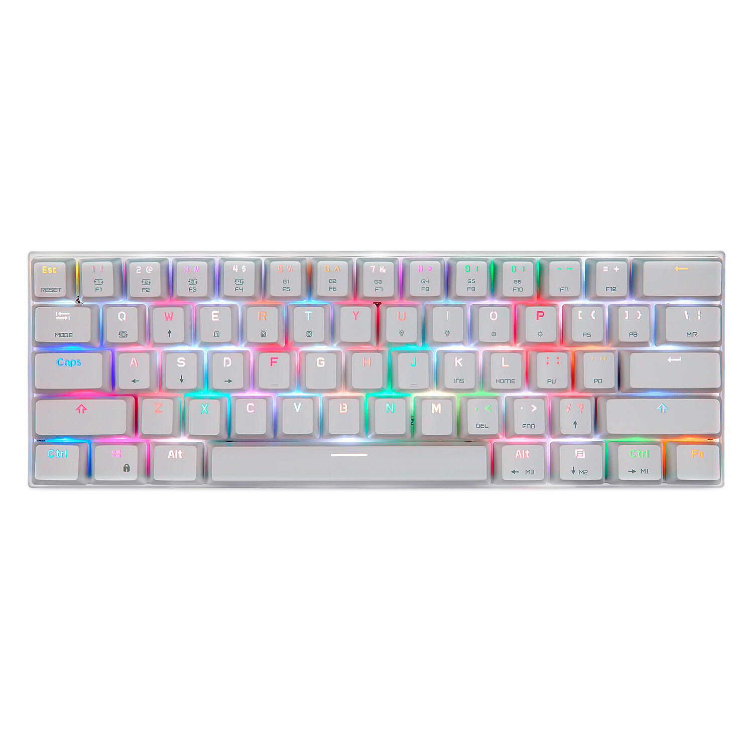 Motospeed CK62 bluetooth USB Wired Dual-Mode Outemu Switch RGB Mechanical Gaming Keyboard