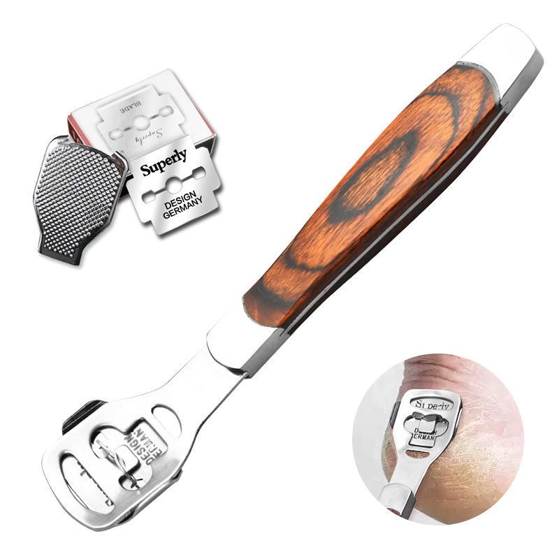 Exfoliating File Feet Dead Skin Removal Cutter Cuticle Hard Skin Scraper Foot Pedicure Tool
