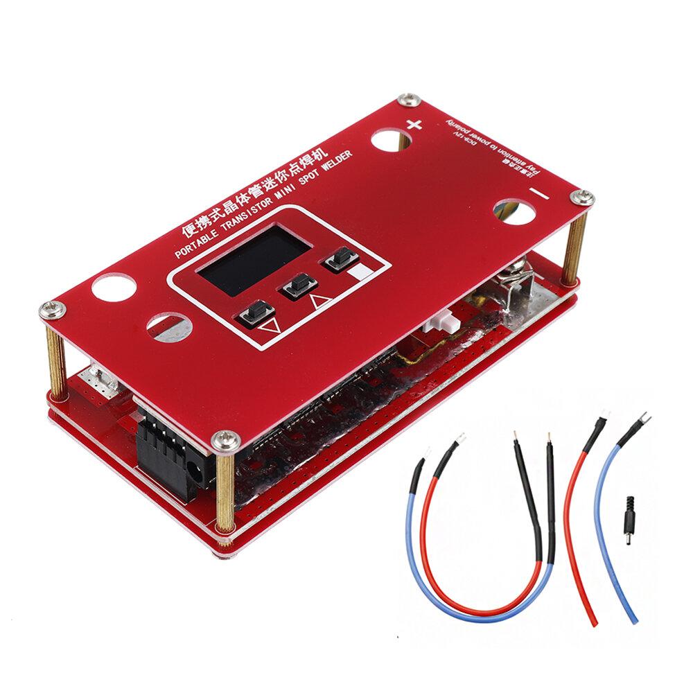 المحمولة DIY البسيطة بقعة آلة لحام مع LCD عرض التلقائي لمس لحام الوضع ل 18650 البطارية 12V سيارة البطارية سوبر مكثف