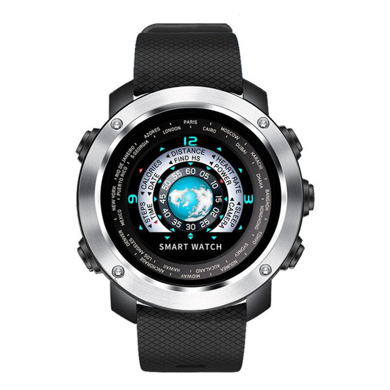 SKMEI W30 Pengingat Pesan Denyut Jantung Monitor Dinamis UI Remote Kamera Cerdas Watch