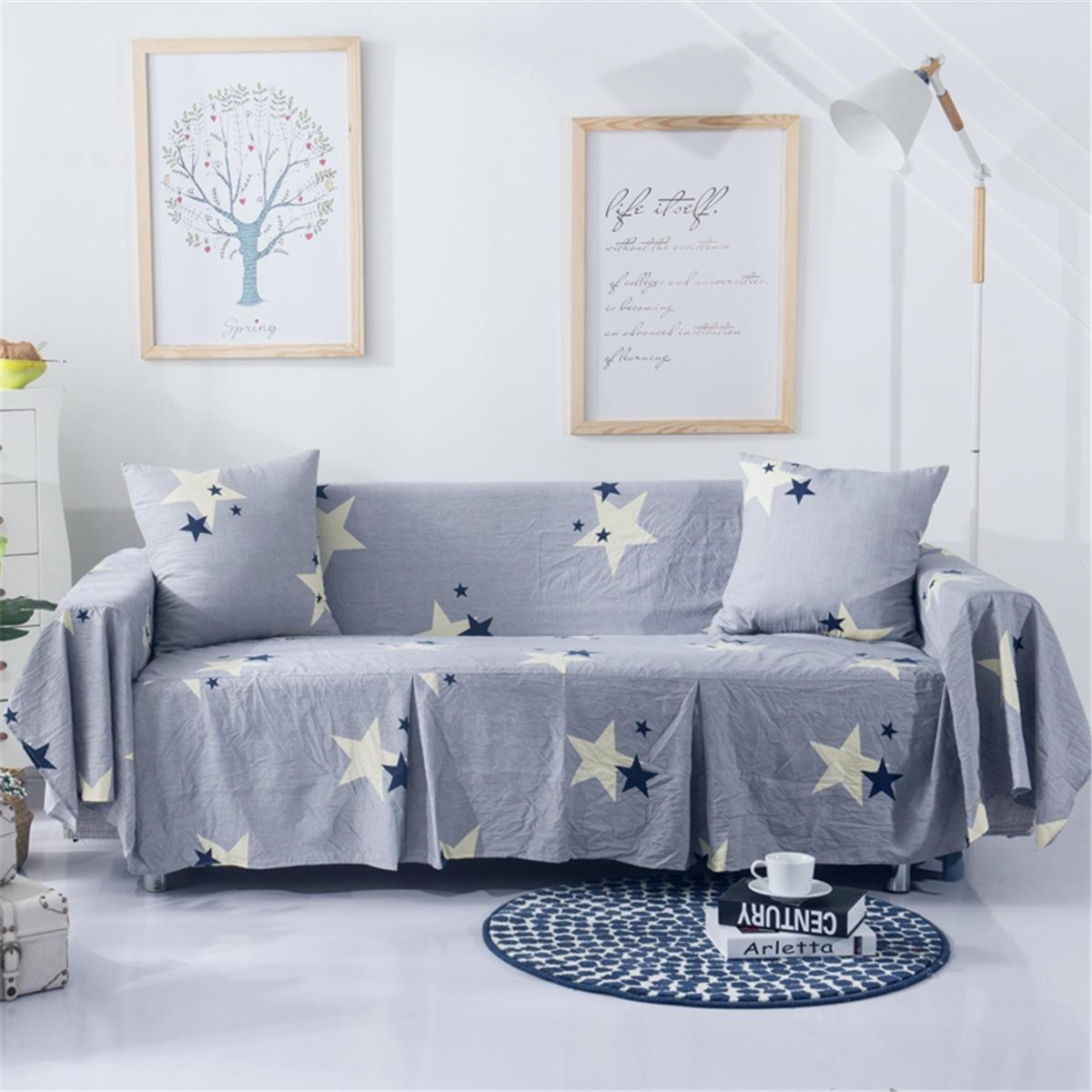1/2/3 cadeira de assentos capas sofá cobre protetores de sofá de móveis de estrela cadeira jogar tapetes