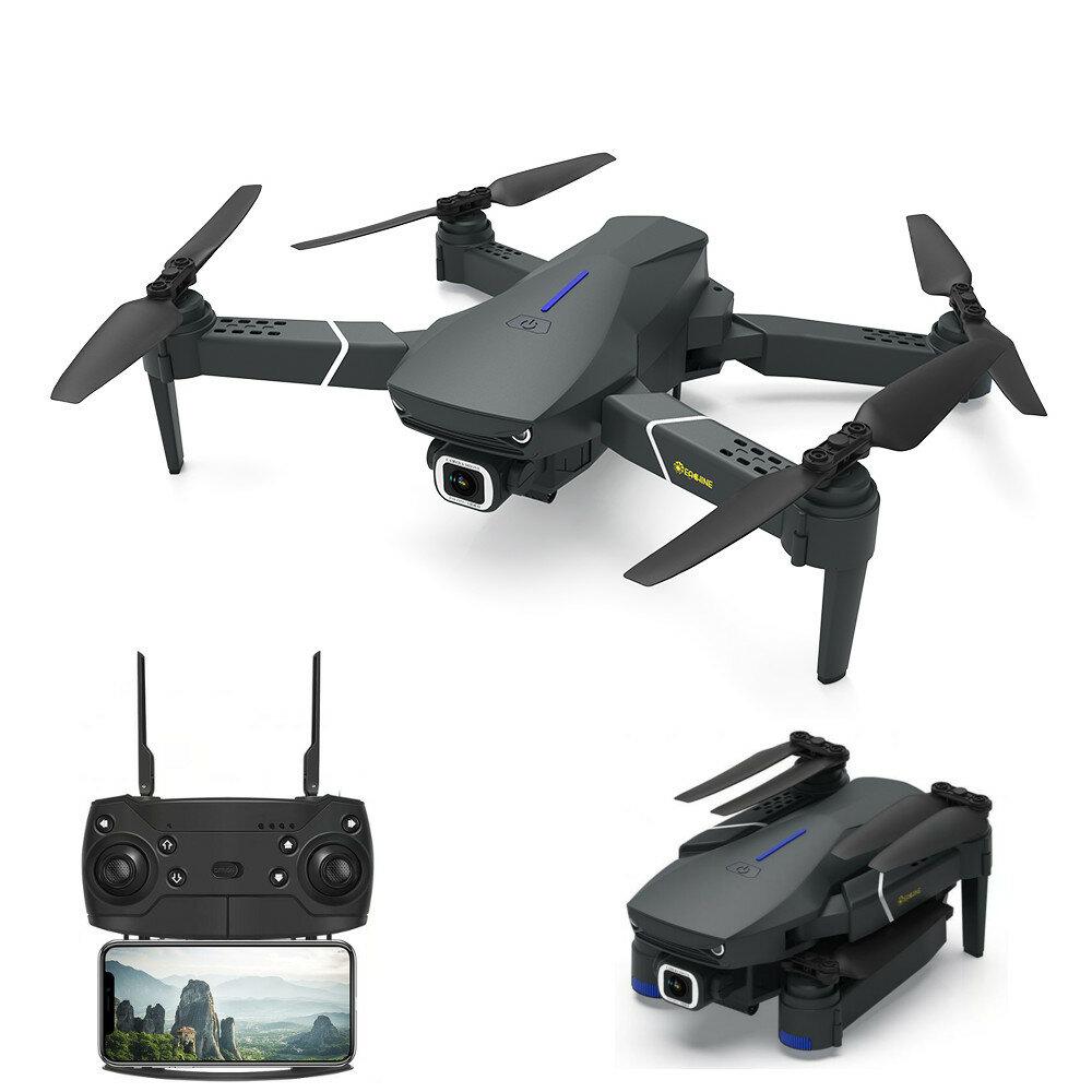 Eachine E520 WIFI FPV Dengan 4K / 1080P HD Wide Angle Kamera Mode Tahan Tinggi Lipat RC Drone Quadcopter RTF
