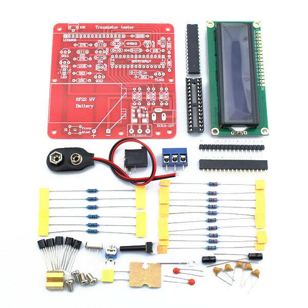 Original Hiland DIY Multifunction Transistor Tester Kit For LCR ESR Transistor Meter PWM Signal Generator