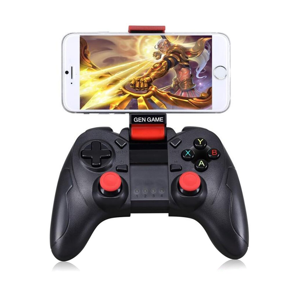Gen Game S6 Updated S3 bluetooth Gamepad Vibration Joystick Game Controller For Mobile Phone