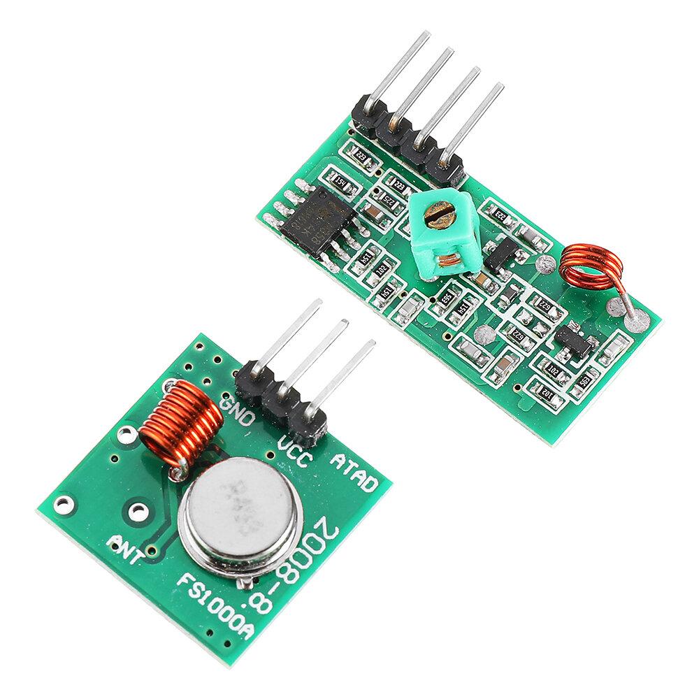 Картинка - 433 МГц RF комплект передатчик с приемником для Arduino ARM MCU беспроволочный