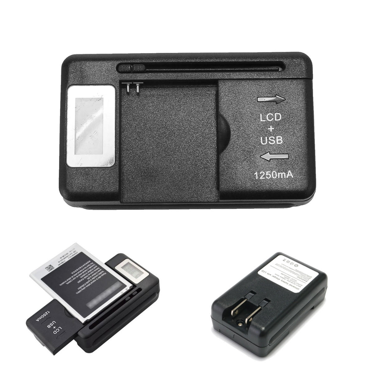 Battery Charger Power Adapter Us Plug For Nokia BL-4C BL-5C BL-6C BL-5B