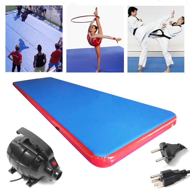 275x79x4inch Inflatable Tumbling Mat Air Track Outdoor Home Gymnastics Training Sport Protection Pad