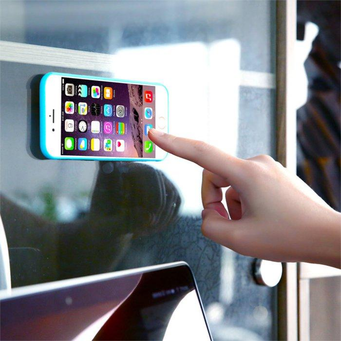 Ultra Thin Anti Gravity Magical Suction Case For iPhone 6 Plus 6S Plus 5.5 Inch
