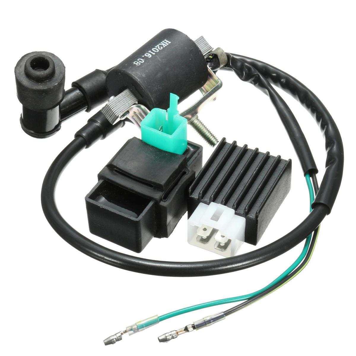 Bộ điều chỉnh CDI cuộn dây đánh lửa cho 110cc 125cc 140cc Pit Dirt Bike