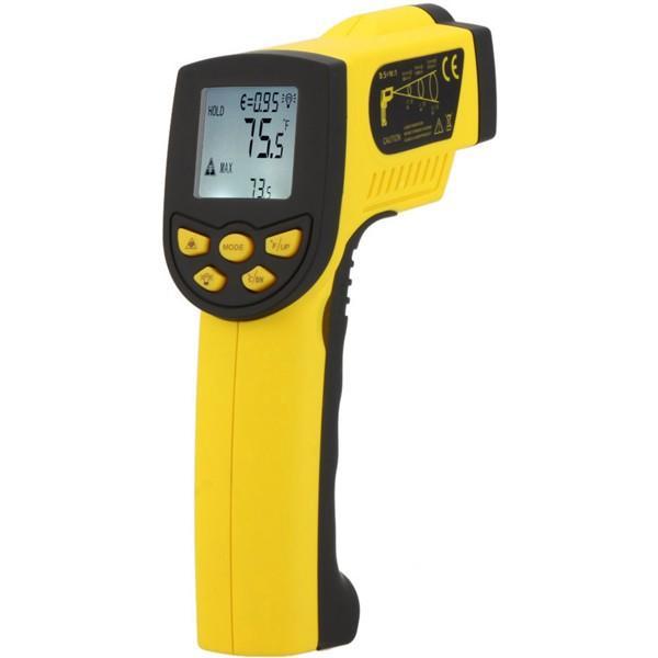 HoldPeak HP-1300 -50-1300 ℃ IR Laser Termometer Temperaturpistol