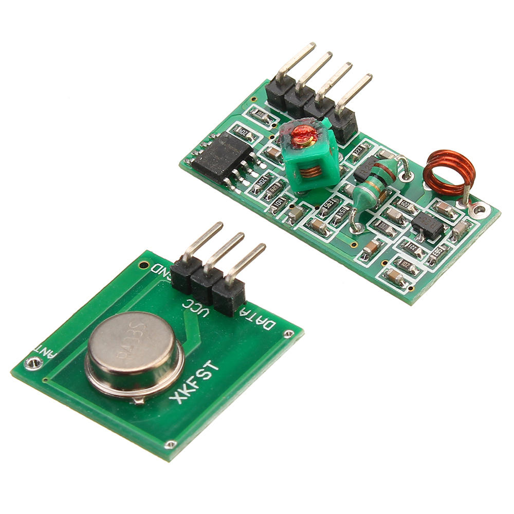 3pcs 433Mhz RF Decoder Transmitter With Receiver Module Kit For  ARM MCU Wireless
