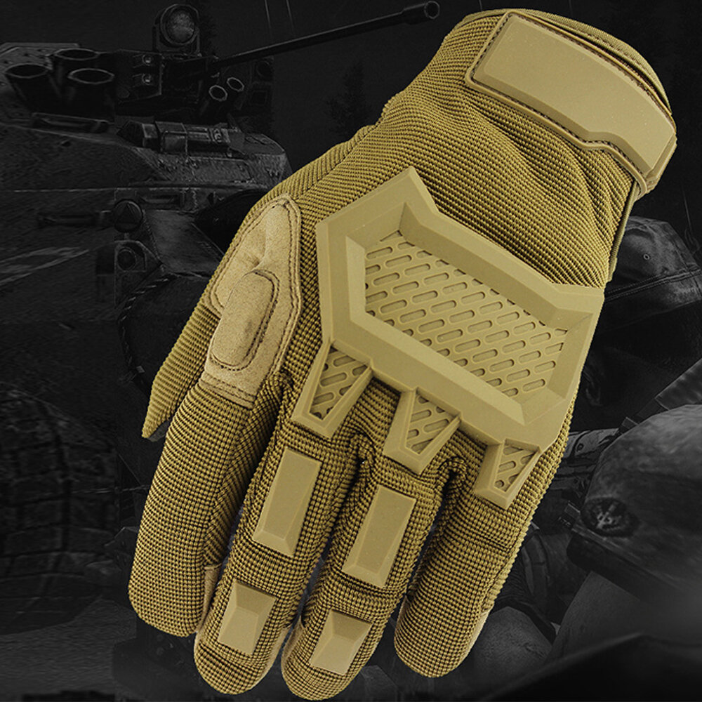 Outdoor Tactical Gloves Taktische Handschuhe Gloves Bicycle Bike Motorcycle Gloves Riding Non-slip Gloves Touch Screen P, Banggood  - buy with discount