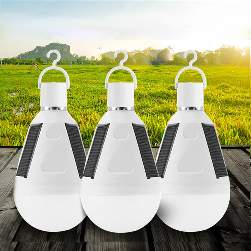 New Hook Emergency Lamps Tent LED Bulb Outdoor Camping Lights Solar Lamp