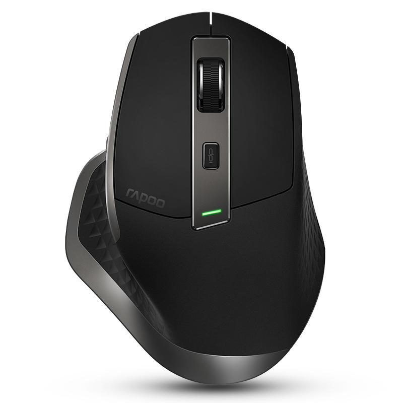053ec010753 rapoo mt750 rechargeable multi-mode wireless mouse bluetooth 3.0/4.0 ...