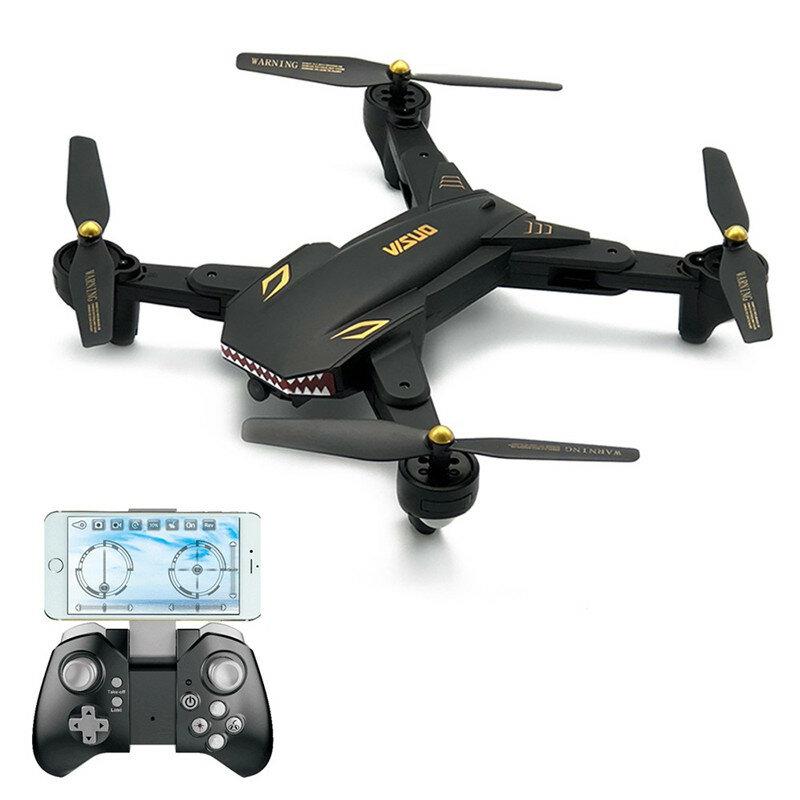 VISUO XS809S BATALLAS DE TIBURONES 720P WIFI FPV Con Cámara de Gran Ángulo 20Mins de Tiempo de Vuelo Cuadricóptero RC