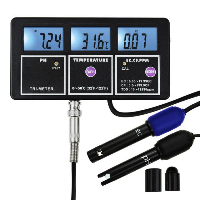 Tester jakości wody PH EC CF TDS(ppm) za $68.01 / ~287zł