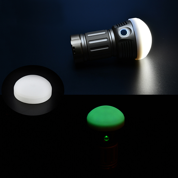 Astrolux Silicone Diffuser For Astrolux MF01S MF01 FT03 Flashlight DIY Camping Light Reading Light Signal Light