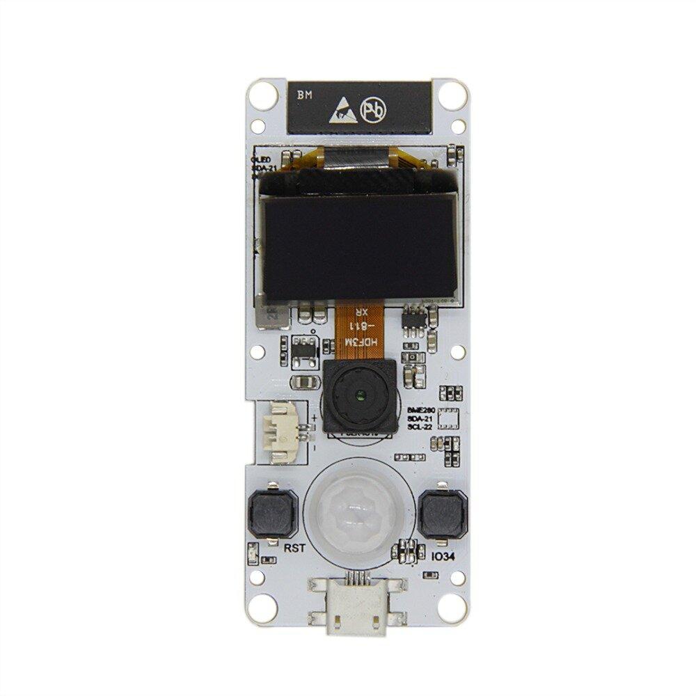 LILYGO® TTGO T-Camera ESP32 WROVER with PSRAM Camera Module OV2640 Camera  0 96 Inch OLED