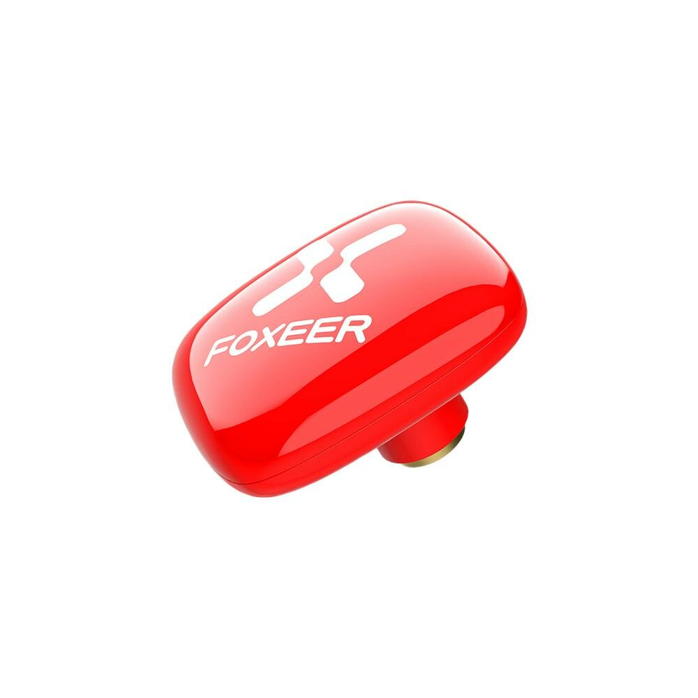 Foxeer Echo Patch 5.8G 8DBi LHCP/RHCP FPV Antenna SMA Male White/Red for RC Drone