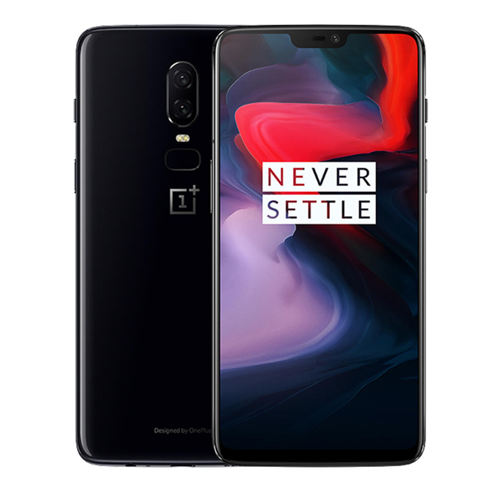 OnePlus 6 6.28 Inch 19:9 AMOLED Android 8.1 6GB RAM 64G ROM Snapdragon 845 Octa Core 4G Smartphone