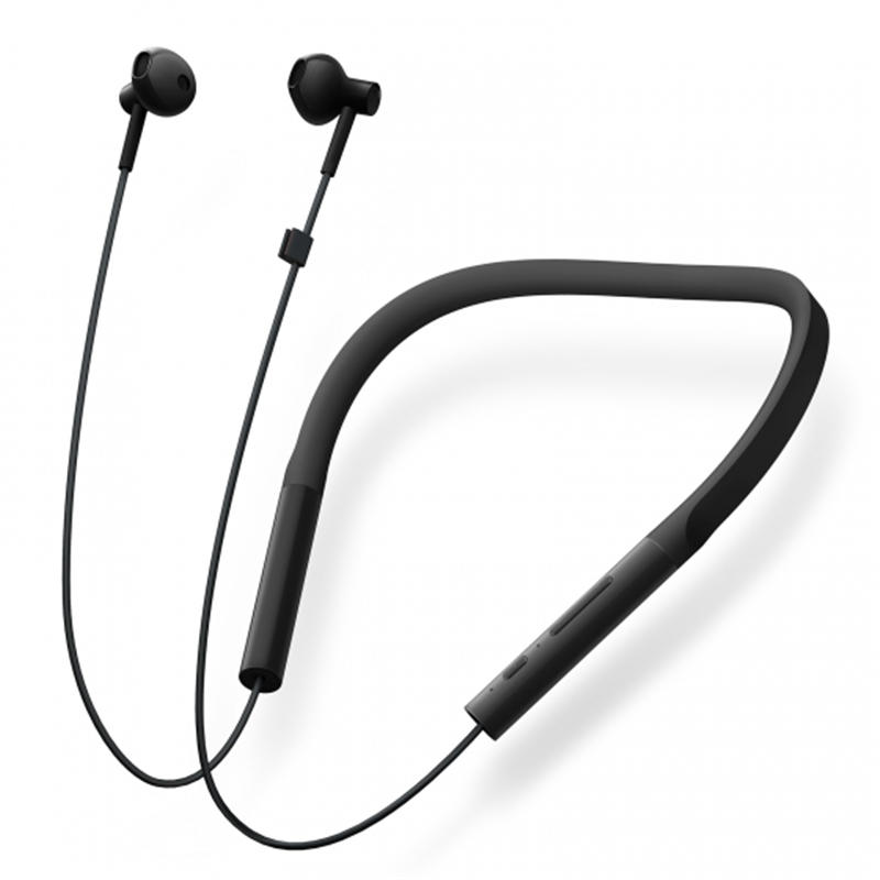 77e7e64fb3c Xiaomi Youth Version Neckband Wireless bluetooth Earphone HiFi Dynamic Sports  Headphone with Mic COD