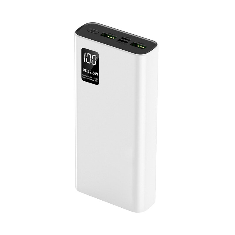 Bakeey 22.5W 74Wh20000mAhパワーバンク外部バッテリー電源22.5WUSB-C PD QC4.0 + QC3.0 USB-A * 2サポートPPSAFC FCP SCPVOOCダッシュワープ急速充電foriPhone 12 Mini 12 Pro Max For…