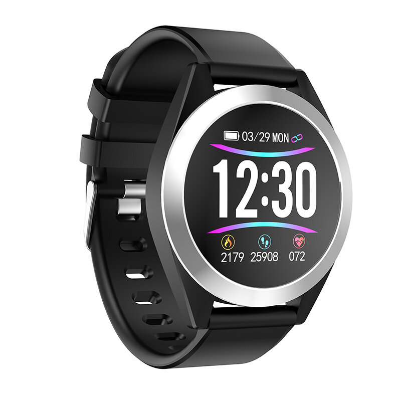 Bakeey G50S Brightness Adjust Heart Rate Blood Pressure Monitor 1.3inch HD IPS Screen 200mAh Long Standby Smart Watch