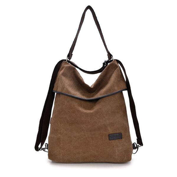 a54307d3fec Women Canvas Handbags Girls Casual Shoulder Bags Backpacks Crossbody Bags