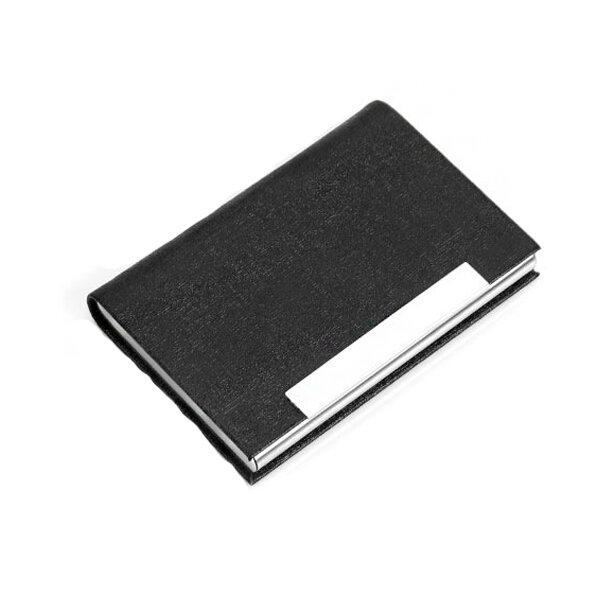 Porta carte di credito in acciaio inossidabile IPRee® Porta carte di credito portatile Porta carte di identità Scatola Viaggi d'affari