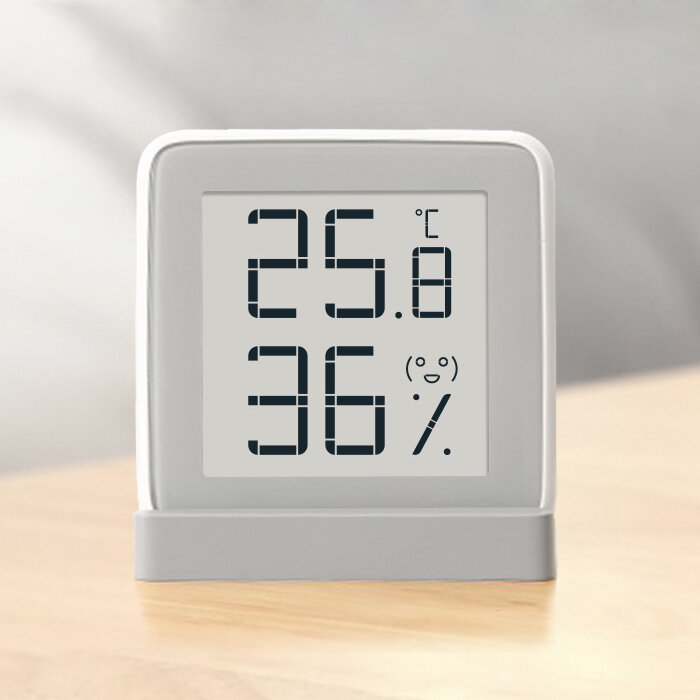 US$9.99 67% Original Xiaomi Mijia E-ink Screen Temperature Humidity Sensor Digital Thermometer Hygrometer Health Management from Health & Beauty on banggood.com