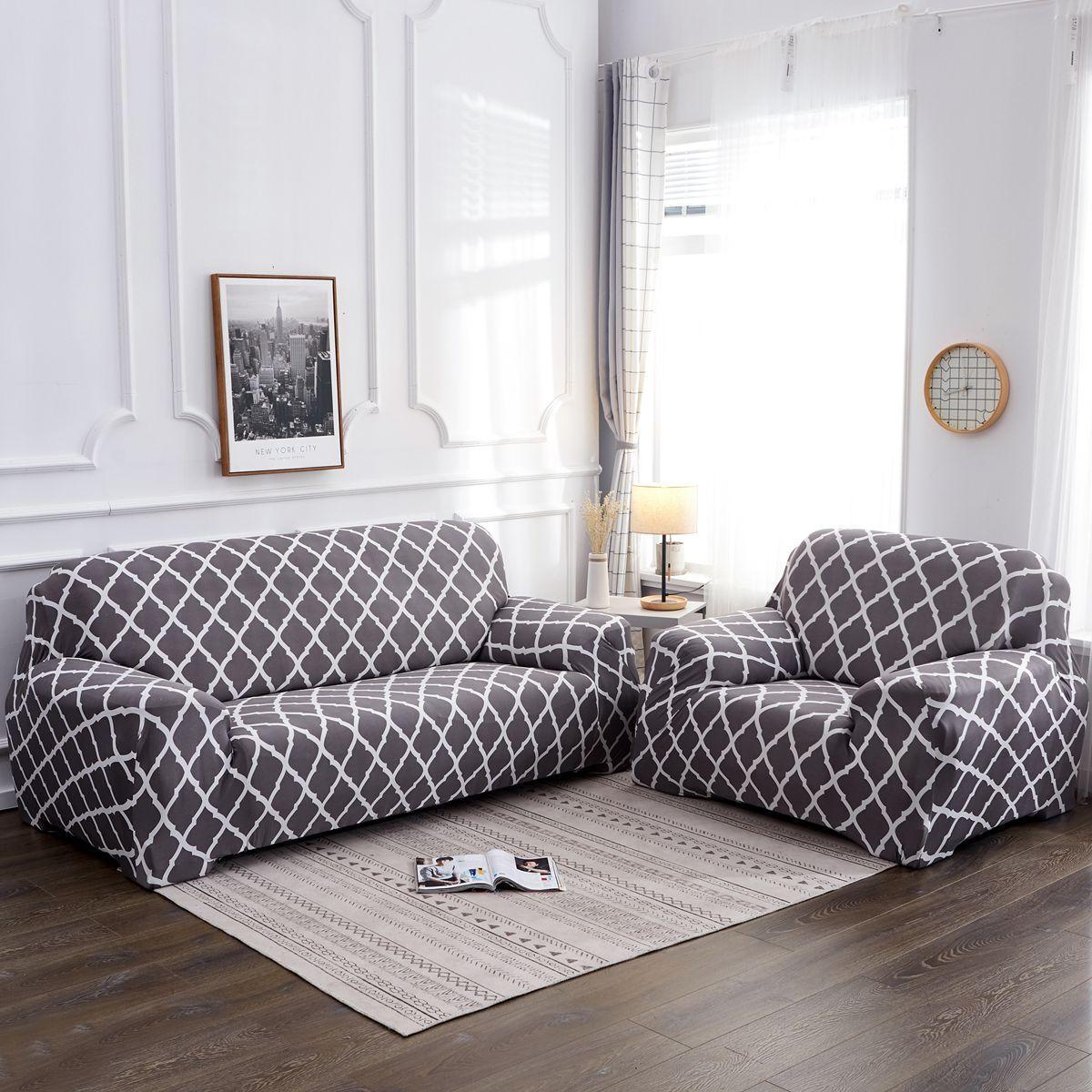 1 2 3 4 Seater Elastic Sofa Covers
