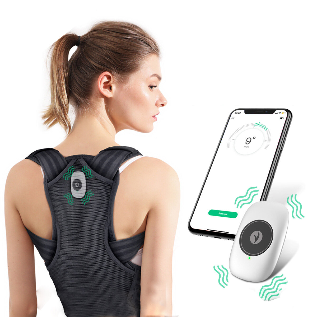 Smart korektor postawy KALOAD Back Trainer Posture za $43.76 / ~161zł