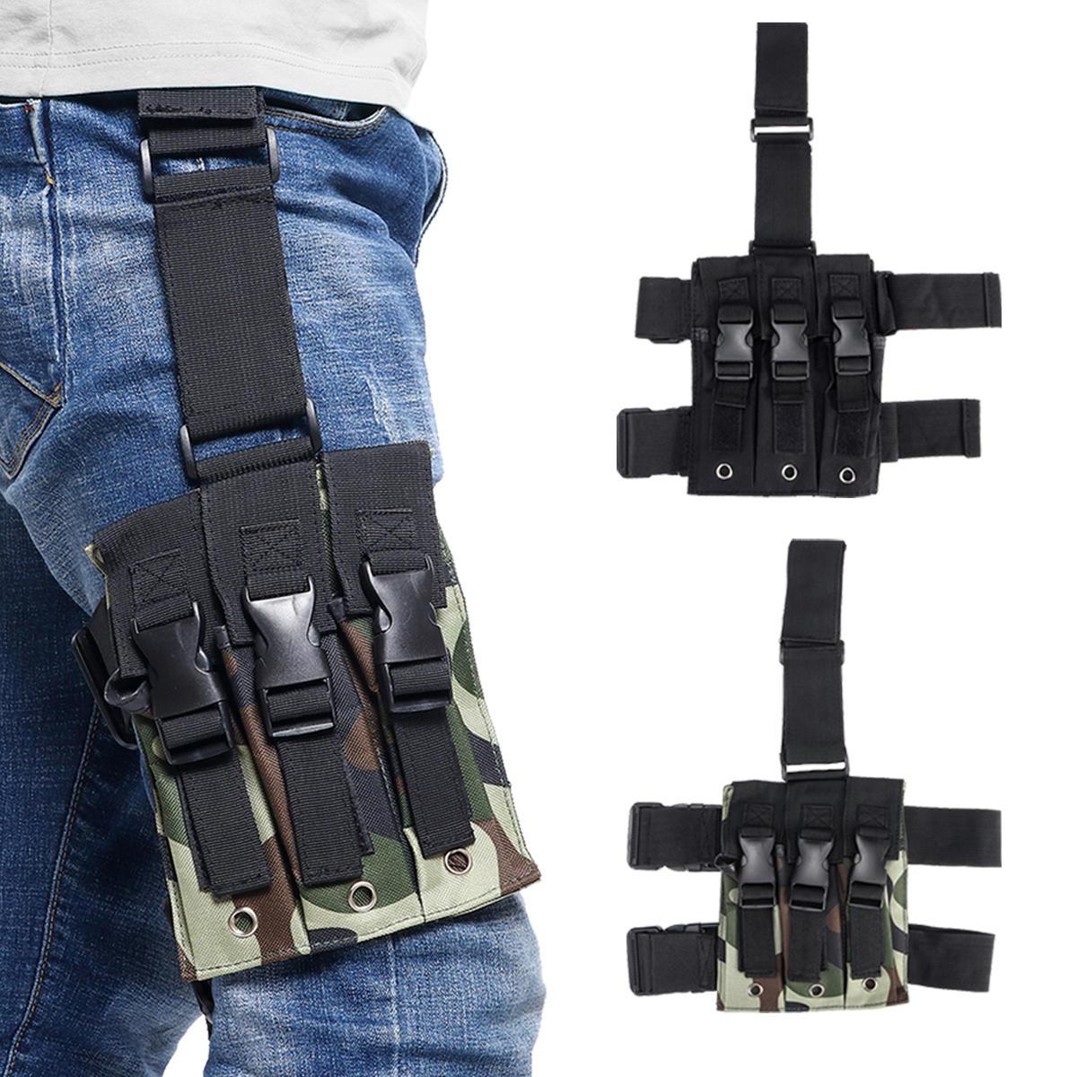 New Men Canva Tactical Motorcycle Riding Hip Fanny Pack Waist Thigh Drop Leg Bag