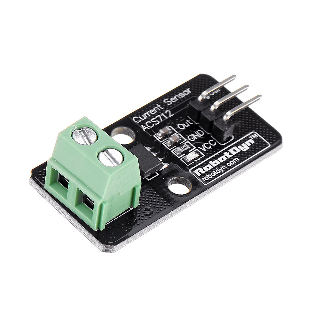 5pcs Current Sensor ACS712 5A Module RobotDyn for Arduino - products that work with official for Arduino boards
