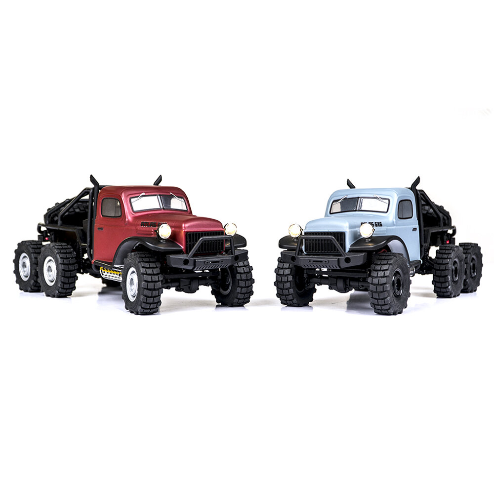 FMS Atlas 6X6 1/18 2.4G Crawler RC Car RC Vehicles Model RTR Full Proportional Control